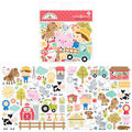 Doodlebug Design Down on the Farm 90 pk Odds & Ends Die-Cuts