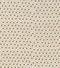 Novelty Cotton Fabric 43\u0027\u0027-Neutral Tiny Puppies