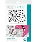 Gina K. Designs 10 pk 5.5\u0027\u0027x8.5\u0027\u0027 Background Foil-Mates-Blooming Hearts