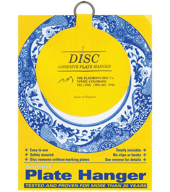 """Disc Plate Hanger 4""""-For Plates Up To 12"""""""