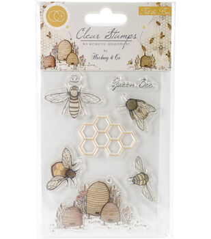 7e8c451886f4 Craft Consortium A5 Tell The Bees Clear Stamps