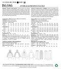 Butterick Pattern B6386 Misses\u0027 Jacket with Hood & Pants-Size 6-14