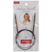 Deborah Norville Fixed Circular Needles 40'' Size 7/4.5mm, , hi-res