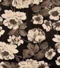 Pleather Fabric 53\u0022-Floral
