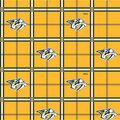 Nashville Predators Flannel Fabric-Box Plaid
