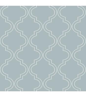WallPops NuWallpaper Peel & Stick Wallpaper-Quatrefoil
