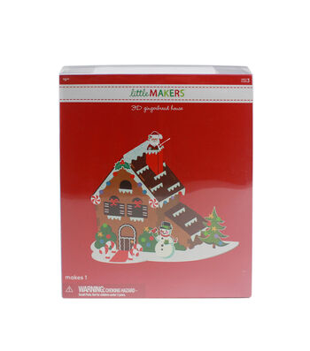 Little Makers 3D Gingerbread House Kit