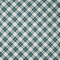 Christmas Cotton Fabric-Green & Gold Buffalo Plaid