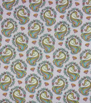 Super Snuggle Flannel Fabric-Sprakle Unicorn