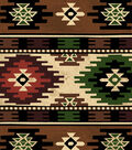 Anti-Pill Fleece Fabric 58\u0022-Lake Aztec