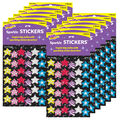 Star Brights Sparkle Stickers 12 Packs
