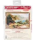 RIOLIS 23.5\u0027\u0027x15.75\u0027\u0027 Counted Cross Stitch Kit-Mountain Lake