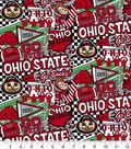 Ohio State University Buckeyes Cotton Fabric-Pop Art