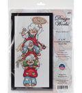 Design Works Crafts 6\u0027\u0027x14\u0027\u0027 Counted Cross Stitch Kit-Pizza Delivery