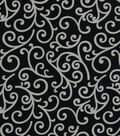 Home Decor 8\u0022x8\u0022 Fabric Swatch-Covington Dazzle 909 Onyx