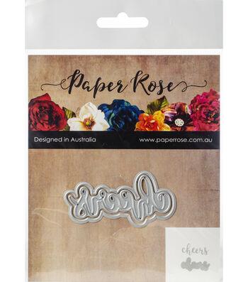 Paper Rose 2 pk Layered Metal Dies-Cheers