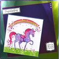 Hunkydory Mirri Super-Reflective A4 Cardstock 8/Pkg-Purple
