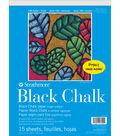 Strathmore 100 Series 15-sheet 9\u0027\u0027x12\u0027\u0027 Black Chalk Paper Pad