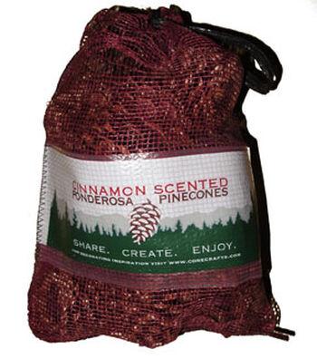 Christmas Cinnamon Scented Ponderosa Pinecones