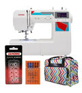 Janome MOD-100 Sewing Machine with Bonus Tote Bag and Accessories