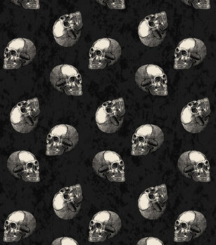 Maker's Halloween 52''x90'' Tablecloth-Skulls