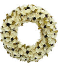 Blooming Autumn Wood Curl Wreath