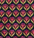 Modern Cotton Fabric 43\u0027\u0027-Scallop Lines