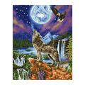 Diamond Dotz Diamond Facet Art Kit-Mystic Wolf