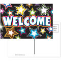 Fancy Stars Welcome Postcards, 30 Per Pack, 6 Packs