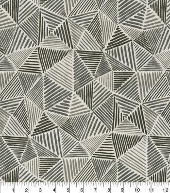 Waverly Upholstery Fabric 54''-Graphite Stitches
