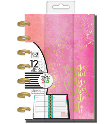 The Happy Planner 12 Month Mini Planner-Positive