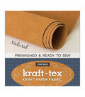 C&T Publishing Kraft-tex Vintage 18.5\u0027\u0027x28.5\u0027\u0027 Prewashed Roll-Natural