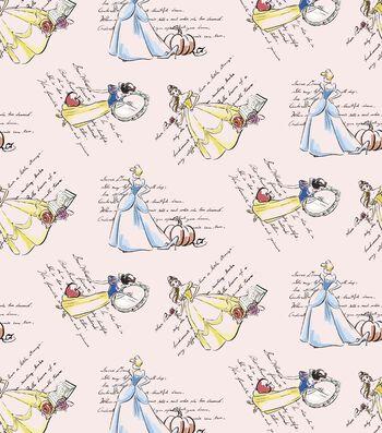 "Disney® Princess Cotton Fabric 43""-Fashion"