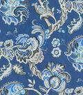 Waverly Multi-Purpose Decor Fabric 56\u0022-Summer Canvas/Indigo
