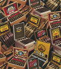 Novelty Cotton Fabric -Classic Cigars
