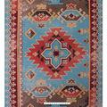 No Sew Fleece Throw Kit 72\u0027\u0027-Textured Aztec