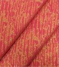 Christmas Cotton Fabric-Red Lurex