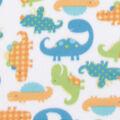 Blizzard Fleece Fabric-Patterened Dinos