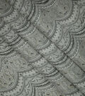 Brocade Fabric-Paisley Scallop