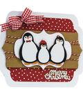 Tonic Studios Christmas Rococo Plus 9 pk Dies-Penguin Family Trio