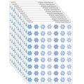 Teacher Created Resources Winter Mini Stickers, 378 Per Pack, 12 Packs
