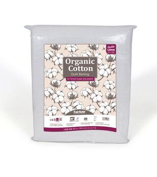 Fairfield Premium Organic Cotton Batting-Queen