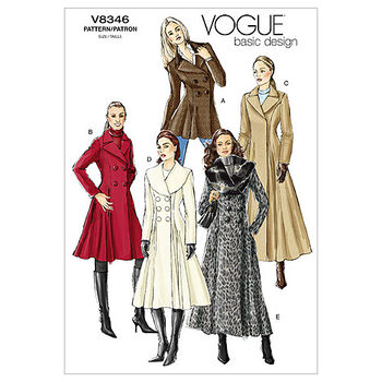 Vogue Patterns Misses Outerwear-V8346