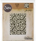 Sizzix Texture Fades Tim Holtz Embossing Folder-Lace
