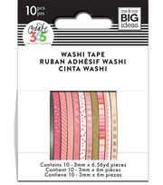 The Happy Planner Mini Washi Tape-Pink, , hi-res