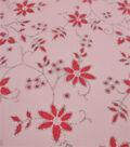 Let\u0027s Pretend Mesh Fabric-Pink Glitter Starflower