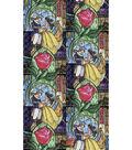 Disney Cotton Fabric 43\u0022-Beauty & The Beast