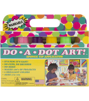 Do-A-Dot Art Set 6/Pkg-Brilliant