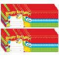 Trend Enterprises Inc. Happy Birthday Owl-Stars! Awards, 30 Per Pack