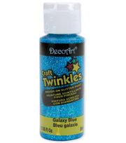 DecoArt Craft Twinkles Glitter Paint-2oz, , hi-res